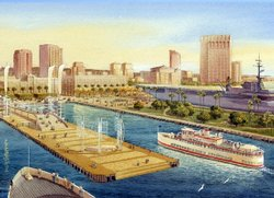 The North Embarcadero Visionary Plan in Downtown San Diego
