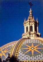 California Tower Dome at Balboa Park