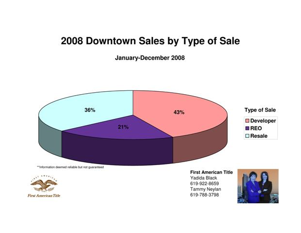 2008 Types of Downtown Sales