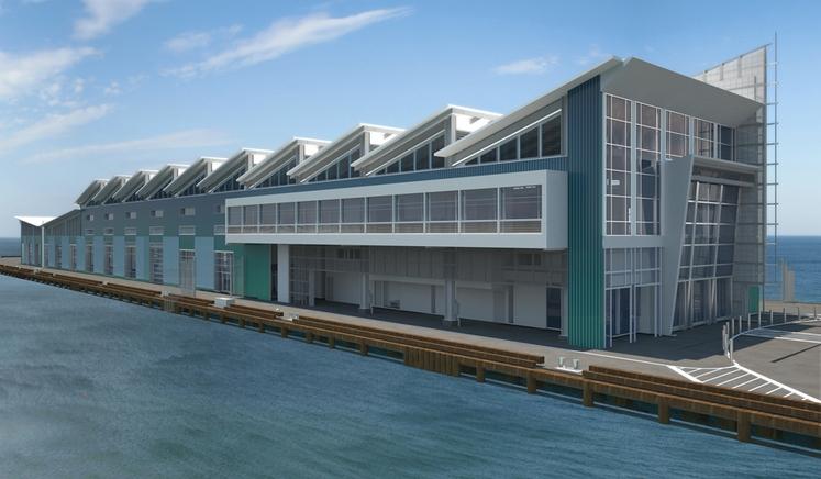Broadway Pier Cruise Ship Terminal