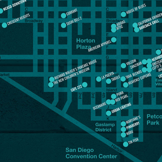 The Hip, Cool and Unique Places to Go in The Gaslamp and The Columbia District in Downtown San Diego!!