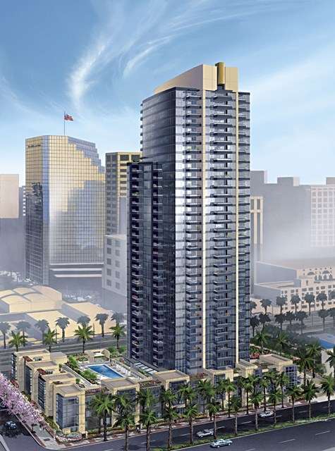 """Bayside"" at The Embarcadero in Downtown San Diego – A Waterside Community!"