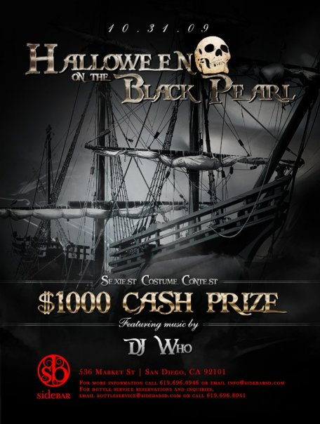 Things To Do on Halloween 2009 in Downtown San Diego!!