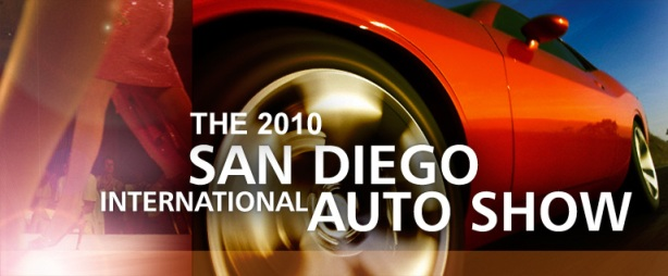 The 2010 San Diego International Auto Show at the Embercadero in Downtown San Diego!