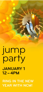 Jump Party at the New Childrens Museum in the Marina District in Downtown San Diego.