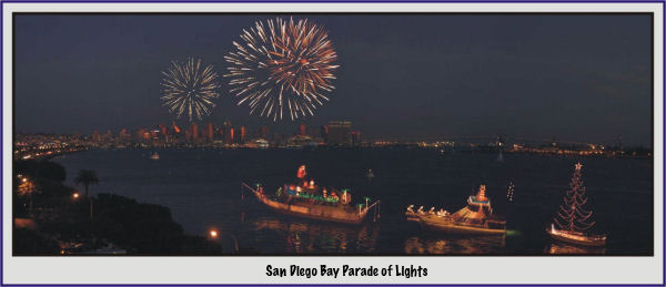 San Diego Bay Parade of Lights 2009!