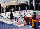 Ice Skating in Downtown San Diego - Our Own Rockefeller Center at Horton Plaza!