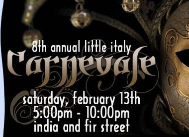 The 8th Annual Carnival in the Little Italy District in Downtown San Diego - Is Coming Up!