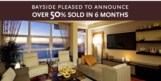 Bayside in the Columbia District in Downtown San Diego Over 50% sold!