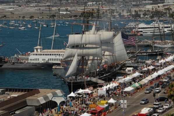 Sailor Days are Coming Up at the Maritime Museum in the Columbia District in Downtown San Diego!