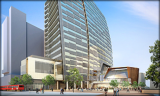 Proposed Downtown San Diego City Hall - Will Cost Less