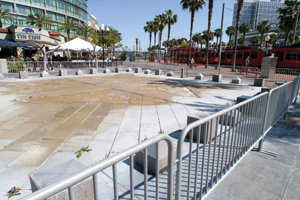 Gaslamp Square Park - Renovation Project is starting