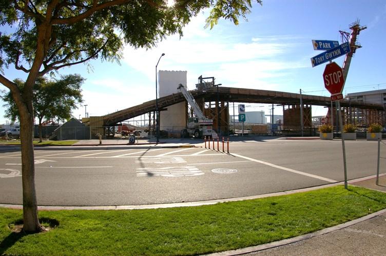 Harbor Drive Pedestrian Bridge - A Year Behind Schedule