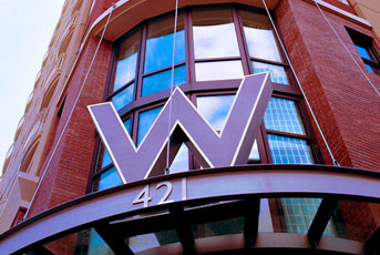 "The ""W Hotel"" in the Gaslamp District in Downtown San Diego Has New Owner"
