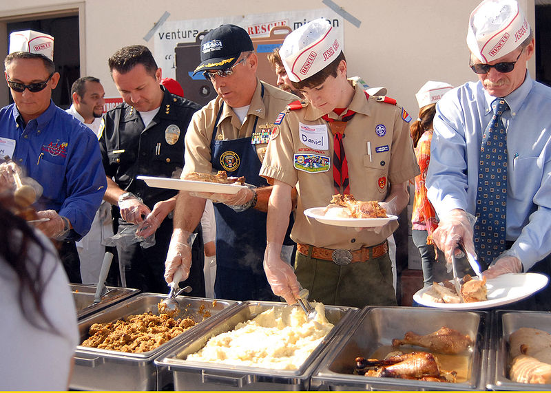Downtown San Diego's Charitable Thanksgiving Events