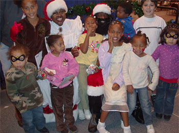 Holiday Magic for Homeless Kids