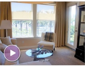 Elegant West Facing Downtown San Diego Condo in the Gaslamp District – Crown Bay – Available for Rent