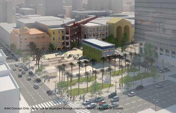 Horton Plaza invites you to be apart of design concepts for new public space.