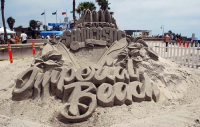 Sandcastle competition in Imperial Beach