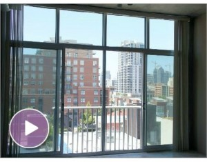For Rent – Contemporary Loft in Fahrenheit just around the corner from Petco Park