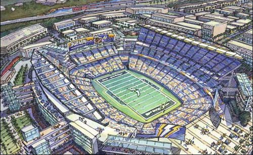 Update – New Charger Stadium in Downtown San Diego