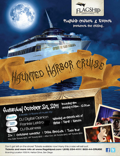 Haunted Harbor Halloween Cruise