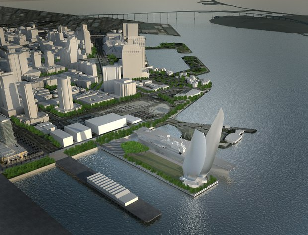 New Navy Pier Plan – Wings Sculpture