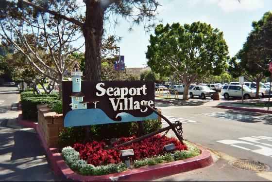 Major Renovation of Seaport Village in Downtown San Diego