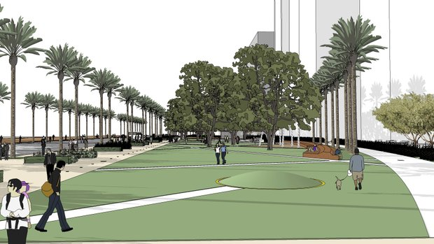 Lane Field in Downtown San Diego to Become Hotel & Park Space