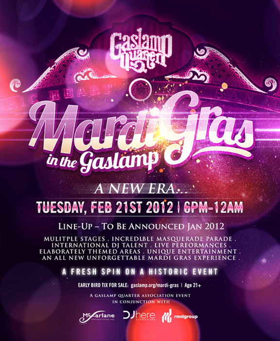 Get Ready for Mardi Gras in the Gaslamp District