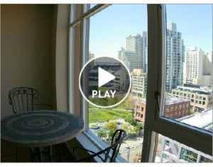 For Rent – West Facing Condo in Diamond Terrace in the East Village/Ballpark District