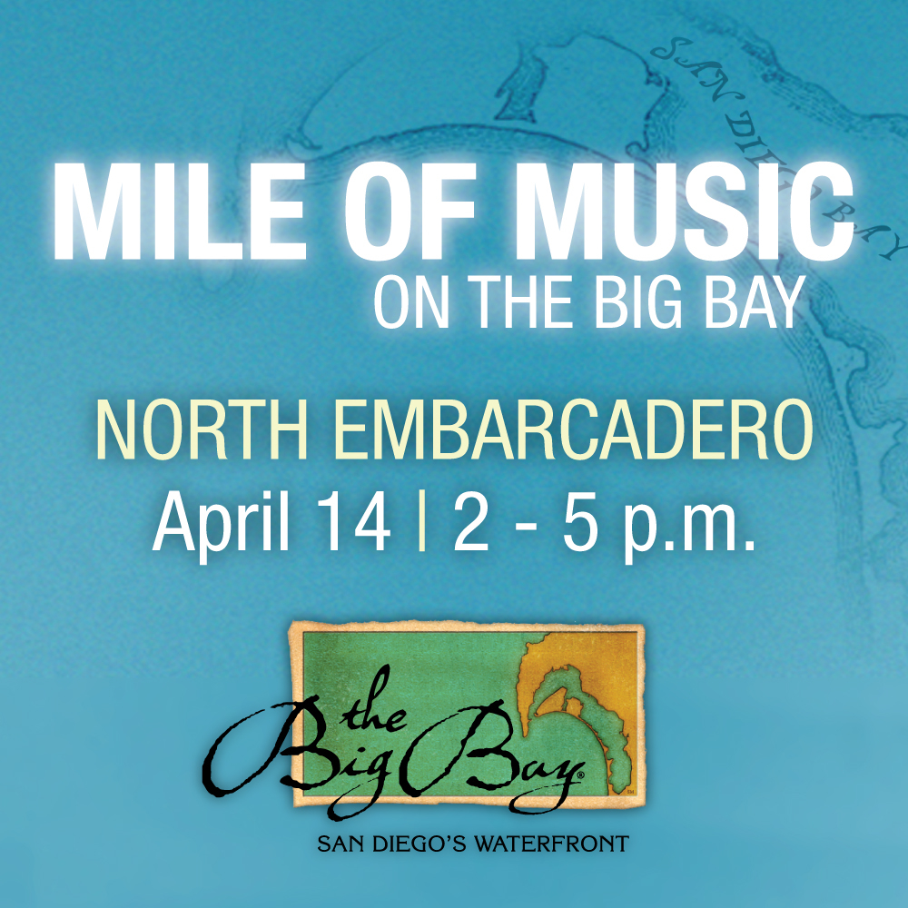 Mile Of Music in Downtown San Diego