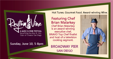 A Music & Wine Festival at Broadway Pier in Downtown San Diego