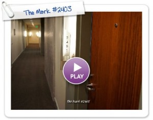 FOR RENT: The Mark Luxury North Facing 1 Bedroom Condo