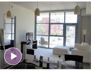 FOR RENT: Furnished Contemporary Little Italy Condo in Aperture