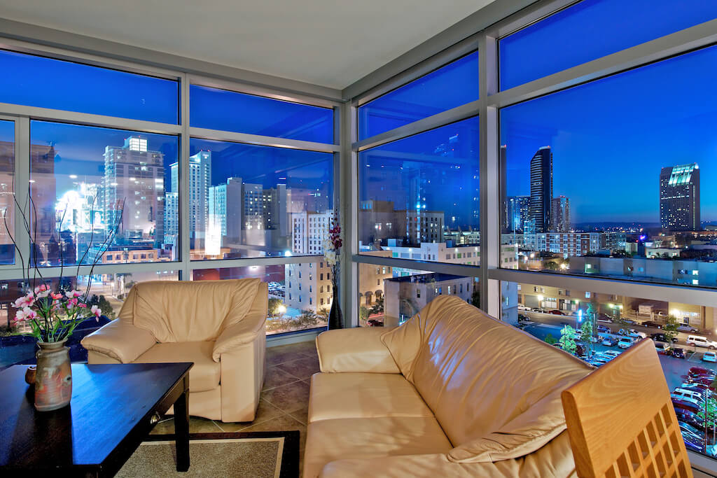 Featured property southwest facing corner condo at the - One bedroom condos for sale in san diego ...