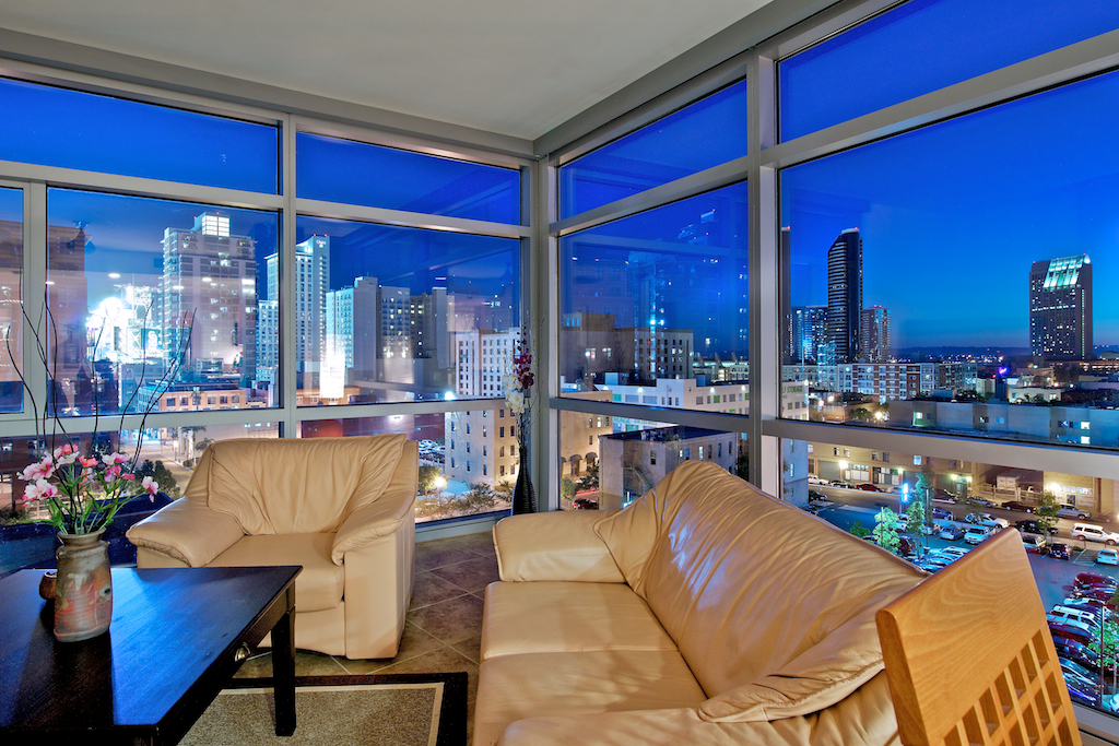 FOR RENT: Corner Downtown San Diego Condo at The Mark