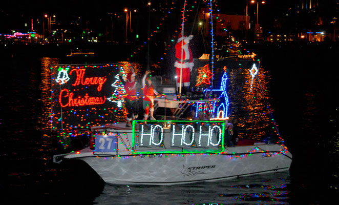 San Diego Bay Parade of Lights 2012