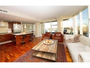Living room of Bayside Condo 3003