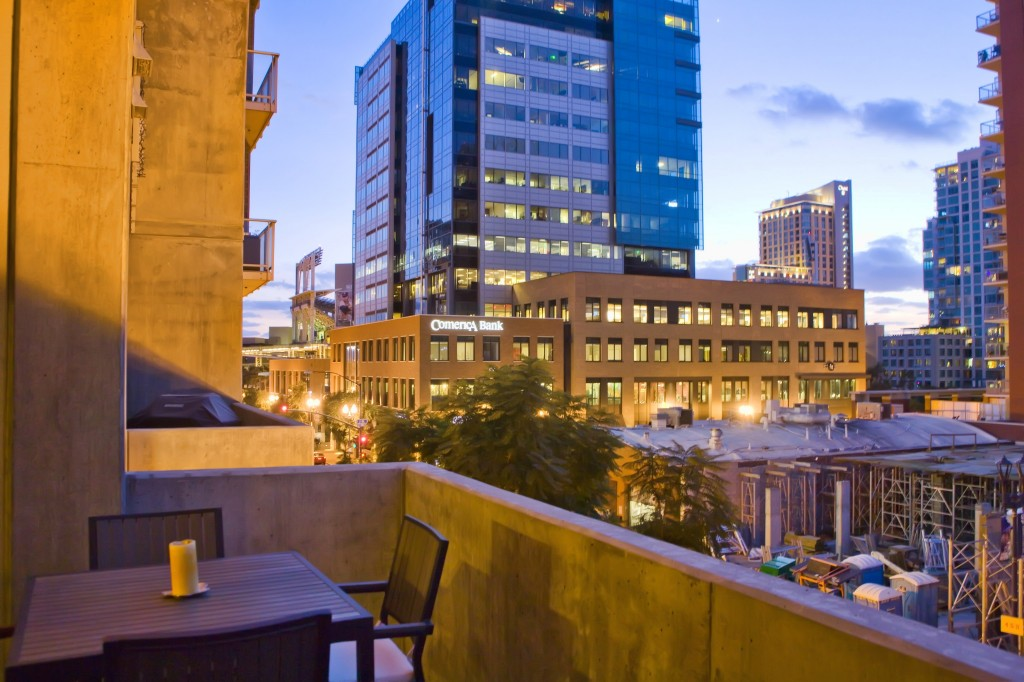 New Downtown San Diego Loft Rental at Fahrenheit in the East Village
