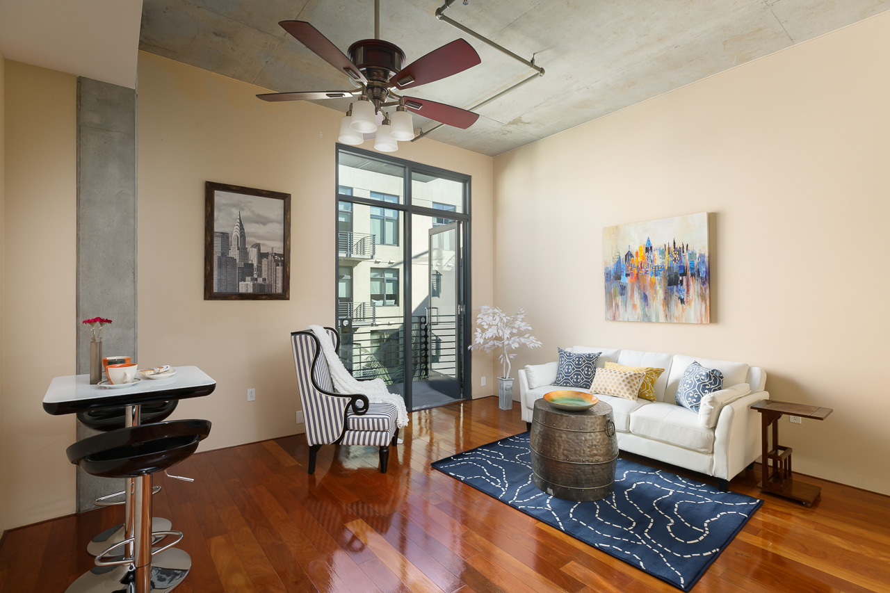 Great Downtown San Diego Loft Located In M2i