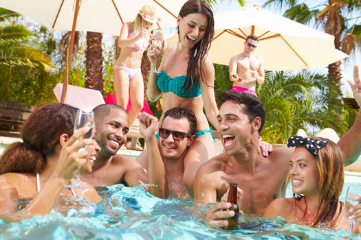 Best Pool Parties in Downtown San Diego